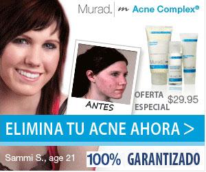 Murad Acne Complex Oferta Especial solamente USD 29.95 por el Tratamiento Completo para Acne